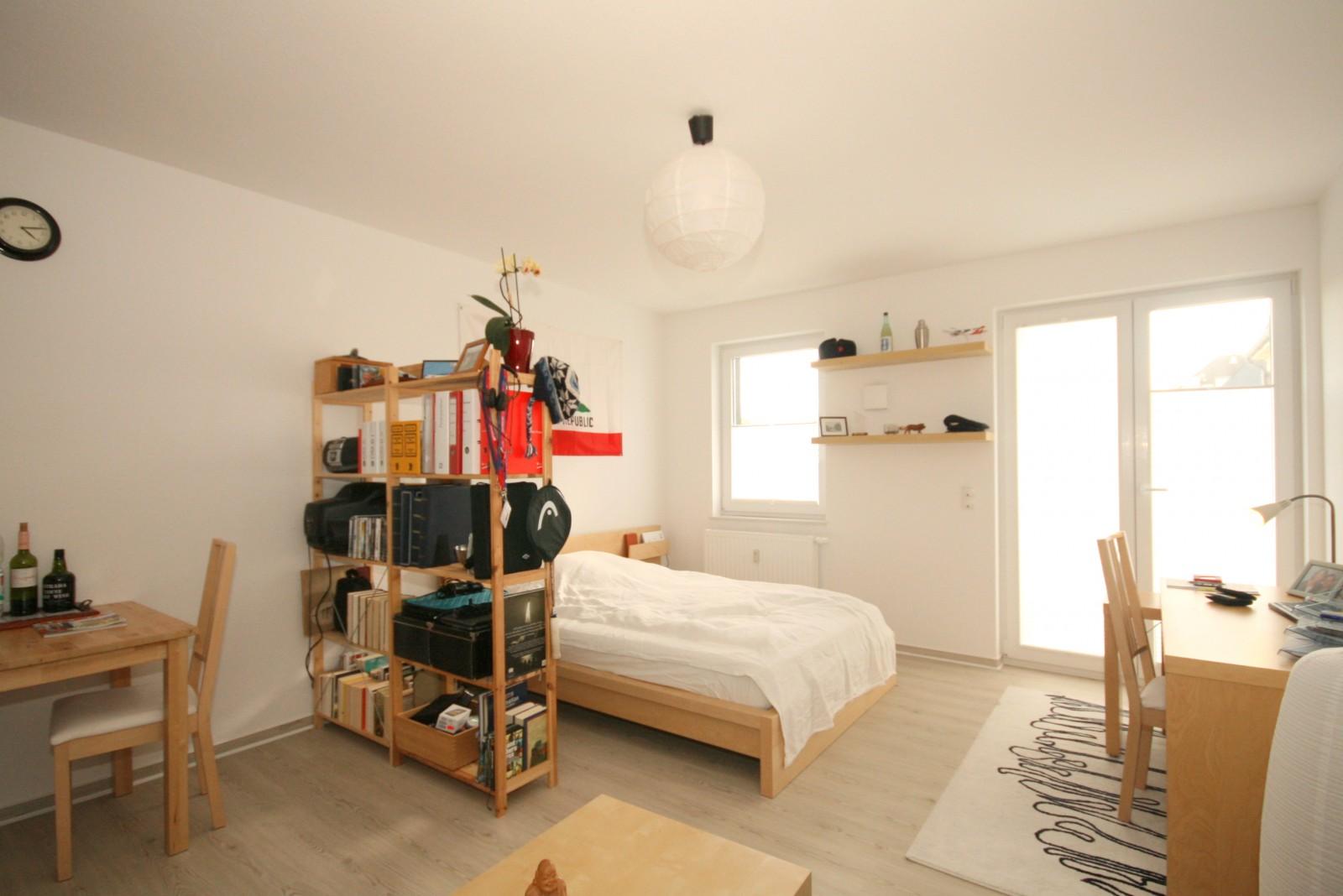 wohnglück auf 34 m². die erste eigene wohnung! | rolefs immobilien, Wohnzimmer dekoo